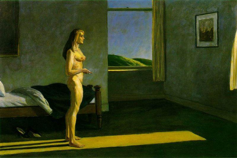 Hopper.woman-sun